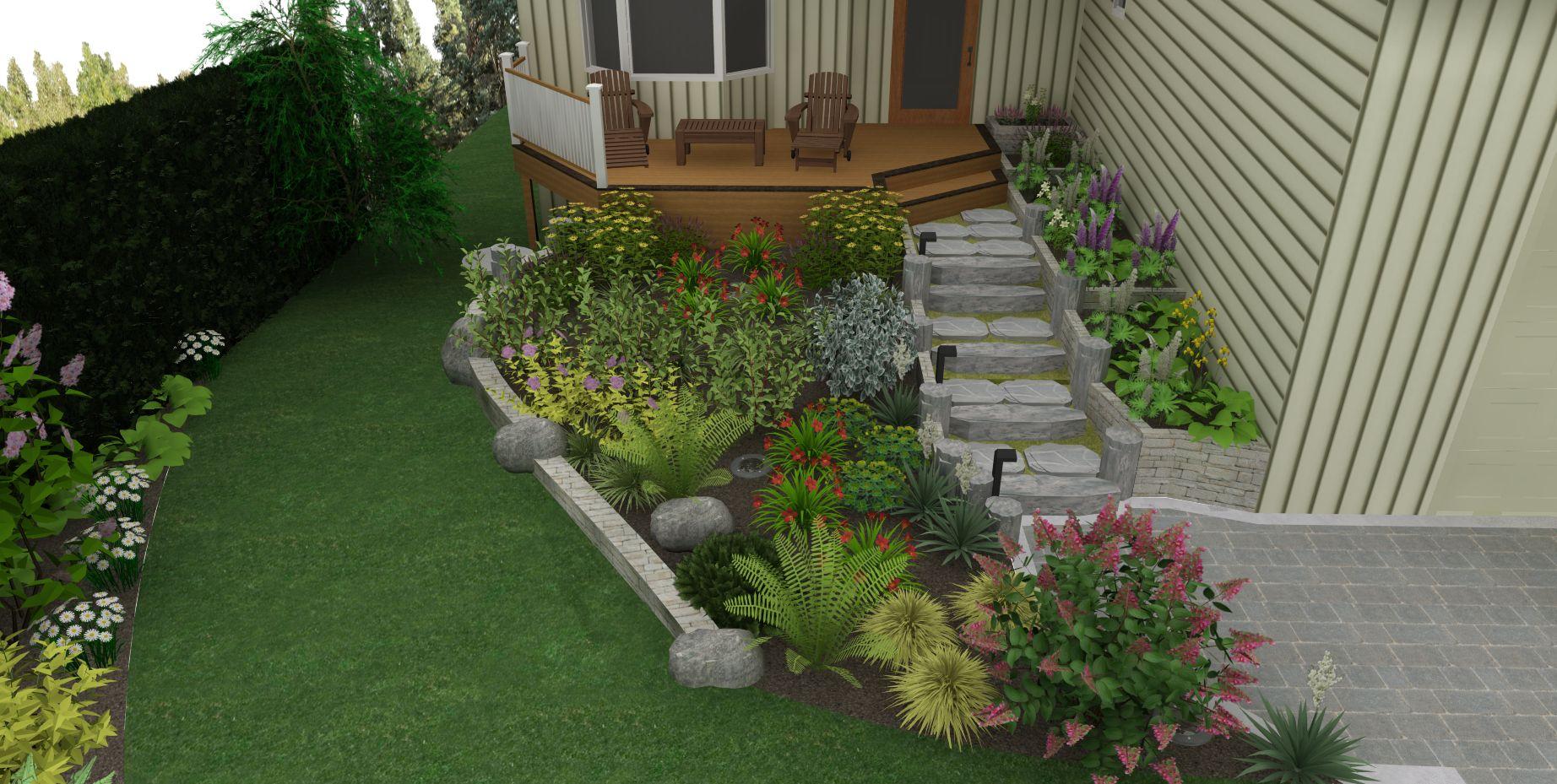 20 excellent landscape maintenance vancouver wa images for Garden design vancouver