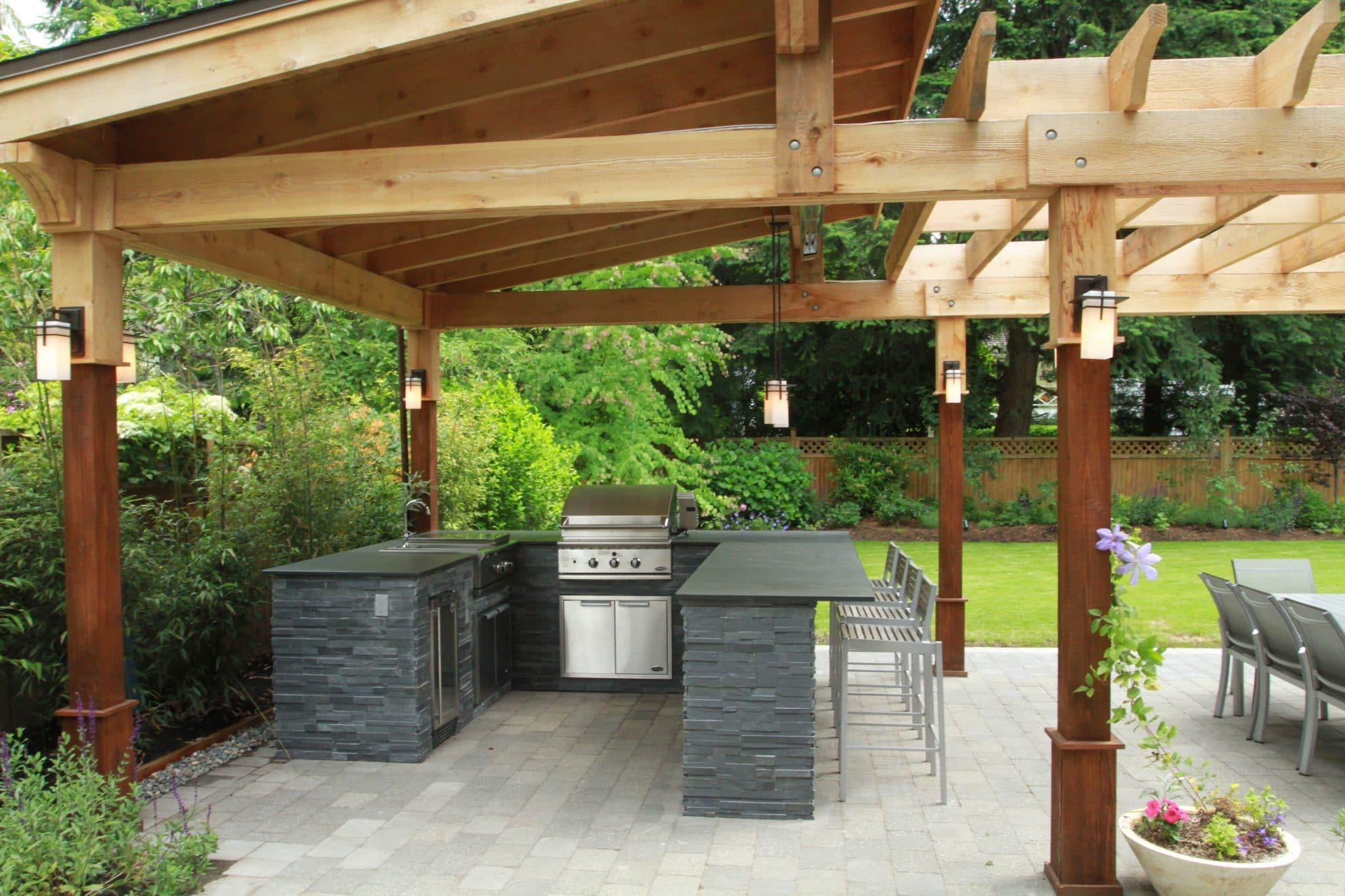 Outdoor BBQ Kitchen Design Kitchen Installation For Vancouver