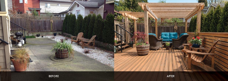 Deck Designs U0026 Installation: A North Vancouver Patio Renovation